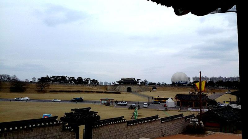ヨンムデからの眺め
