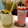 【S&B閉店】水原繁華街にあるおしゃれカフェのポムポム苺ラテ