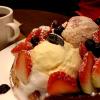 ハーゲンダッツアイスのせの焼き立てワッフルが食べれるカフェ ~ハンズコーヒー~