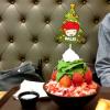苺クリスマスツリーかき氷  ~ソルビンの今年度冬の新商品~