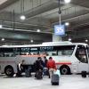 仁川空港第2→水原キャッスルへバスでの行き方 & 空港バス自販機チケットの買い方